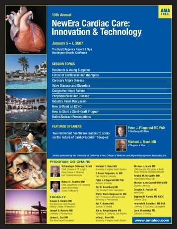 NewEra Cardiac Care: Innovation & Technology - Aligned ...