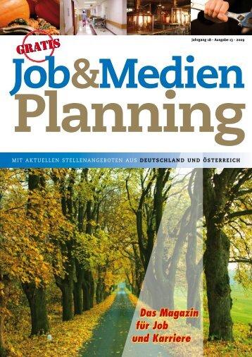 Jahrgang 18 - Ausgabe 13 - Jobs und Stellenangebote aus ...