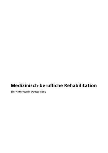 Medizinisch-berufliche Rehabilitation - Einfach teilhaben