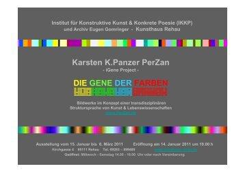 Karsten K.Panzer PerZan DIE GENE DER FARBEN
