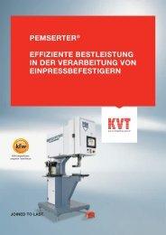 PeMSerter® effiziente BeStleiStung in der VerarBeitung Von ...