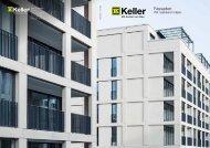 Broschüre Fassaden - Keller AG Ziegeleien