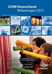 ICOM Deutschland Mitteilungen 2012