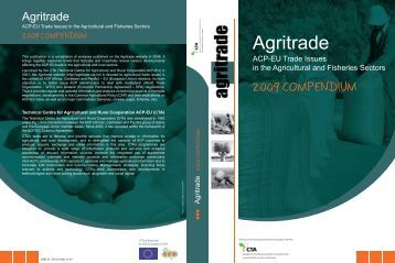 Agritrade: ACP-EU Trade Issues in the Agricultural