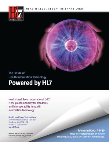 Powered by HL7