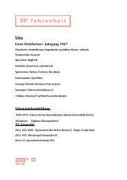 Vita: Irene Holzfurtner- Jahrgang 1967 - 99-grad.com