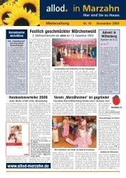 Ausgabe 10 November 2009