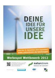 Werbespot-Wettbewerb 2012 - Naturstrom