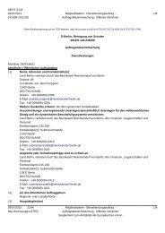 D-Berlin: Reinigung von Schulen - Die Vergabeplattform des ...