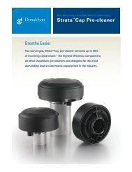 Strata™Cap Pre-cleaner - Donaldson Company, Inc.