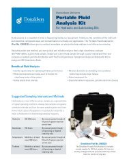 Portable Fluid Analysis Kit - Donaldson Company, Inc.