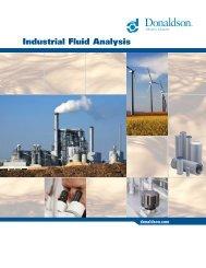 Industrial Fluid Analysis - Donaldson Company, Inc.