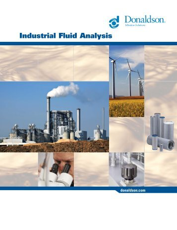 Industrial Fluid Analysis - Donaldson Company, Inc.