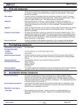 SECTION 1 - Product Identification - Donaldson Company, Inc. - Page 4