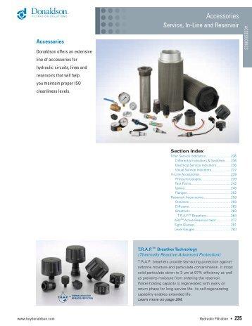 Accessories - Donaldson Company, Inc.