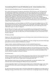 Pressemitteilung B90/Die Grünen KV Pfaffenhofen ... - Donaukurier