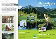 Dachstein Sommercard - Hotel Post in Schladming