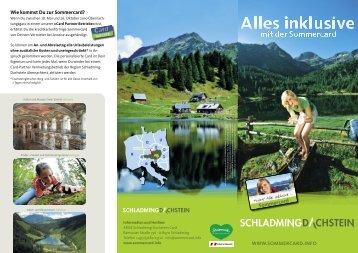 Dachstein Sommercard - Hotel Post in Schladming