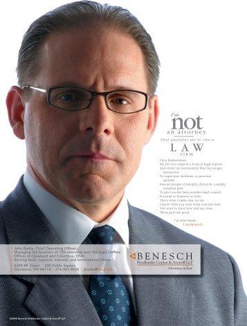 an attorney. - Benesch