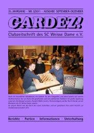 Freitag der 13. - Schachclub Weisse Dame eV