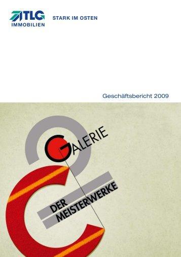 Geschäftsbericht 2009 - TLG Immobilien GmbH