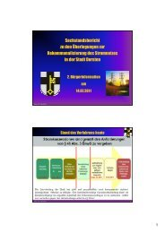 (Microsoft PowerPoint - Stadtwerke - 2. B\374rgerinfo ... - Stadt Dorsten