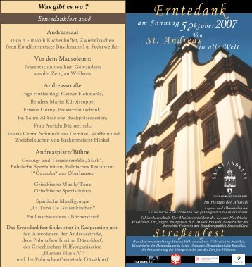 Erntedank - Dominikaner St. Andreas