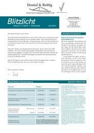 Infobrief September 2012 - Dostal & Rettig