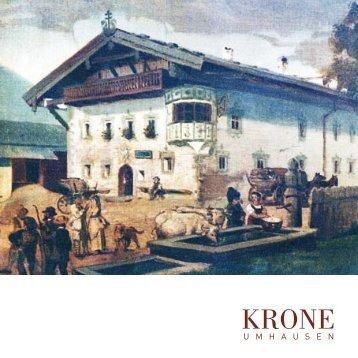 """Publikation """"Krone Umhausen"""", erschienen 2011 anlässlich 10 Jahre"""