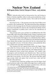 Nuclear New Zealand - Greg Hallett and Spymaster