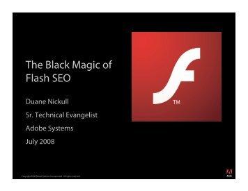 The Black Magic of Flash SEO