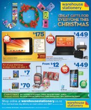 WHS1395 Christmas Mailer 4_1-3_10.indd - Warehouse Stationery