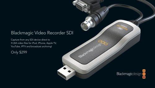 Blackmagic Video Recorder Sdi Vantec