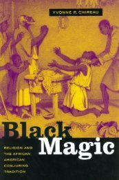 Black Magic: Religion and the African American Conjuring Tradition ...