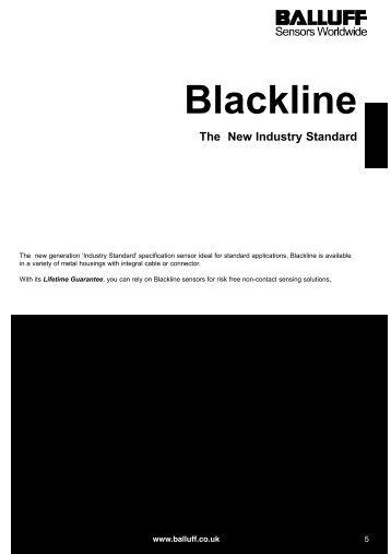 Blackline Inductive Sensors - Farnell