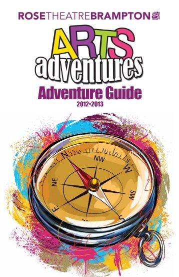 Arts Adventure Brochure - the City of Brampton