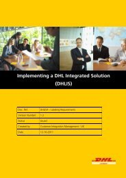 DHLIS4 - Labelling Requirements
