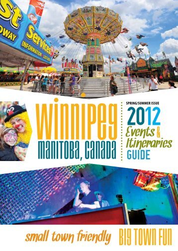 Events & Itineraries Guide - Tourism Winnipeg