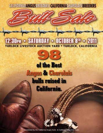 of the Best Angus & Charolais bulls raised in California. - JDA Online