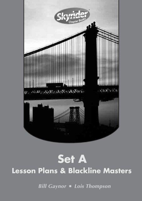 Lesson Plans & Blackline Masters - Modern Teaching Aids