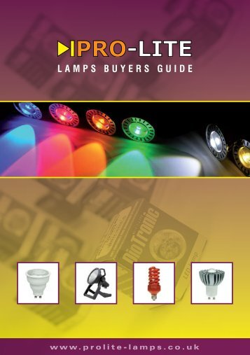 LAMPS BUYERS GUIDE - Farnell