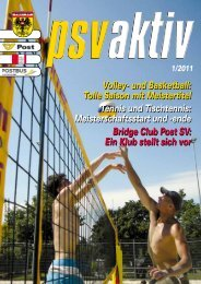 psv aktiv - Post SV Wien