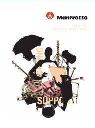 Manfrotto mission
