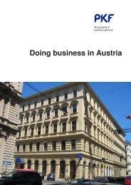 Doing business in Austria - PKF
