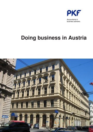 Doing business in Austria - PKF