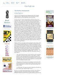 Book Reviews - Chess Cafe