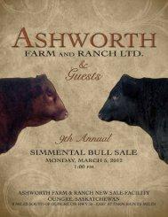 Ashworth Farm & Ranch - Bouchard Livestock International