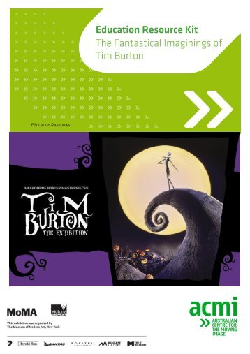 The Fantastical Imagination of Tim Burton - Education Resource Kit