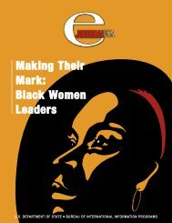 Making Their Mark: Black Women Leaders - US Department of State