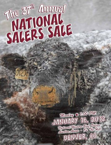 Saler Sale Catalog - National Western Stock Show